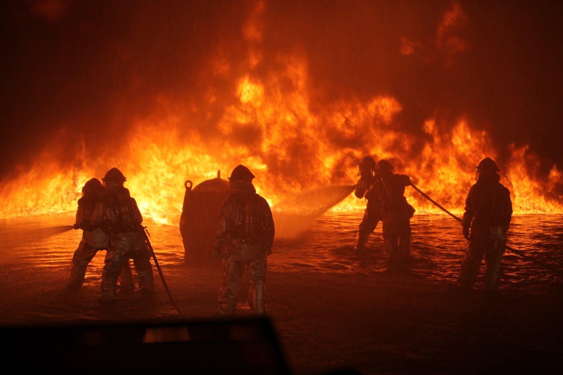 Wildfires Rage Across the Western U.S.